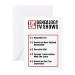 Genealogy TV Shows Birthday Card