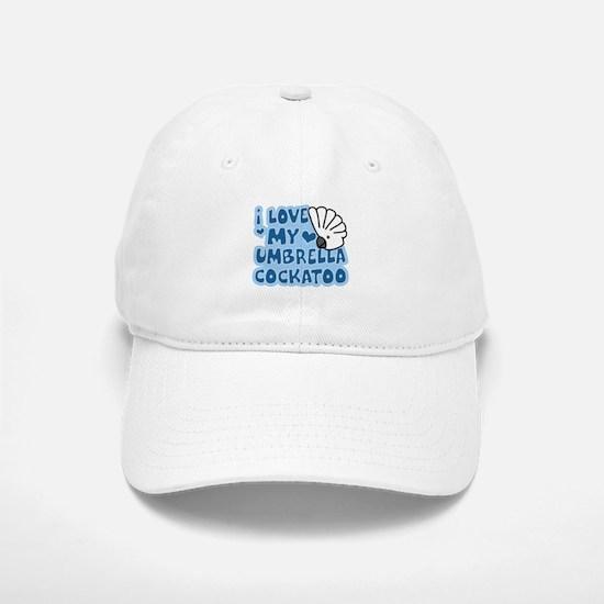 Kawaii Umbrella Cockatoo Baseball Baseball Cap