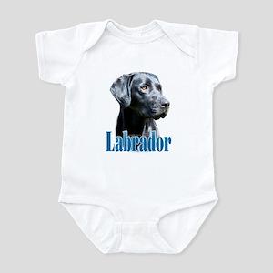 Lab(black) Name Infant Bodysuit