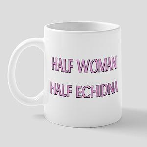 Half Woman Half Echidna Mug