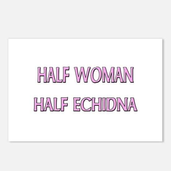 Half Woman Half Echidna Postcards (Package of 8)