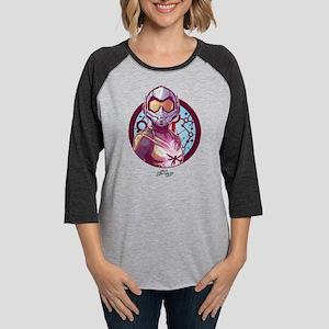 The Wasp Badge Womens Baseball Tee
