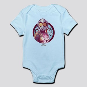 The Wasp Badge Baby Light Bodysuit