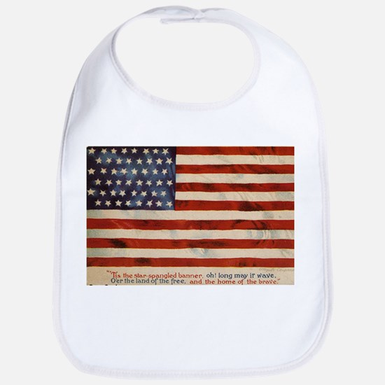 The Flag (Front only) Bib