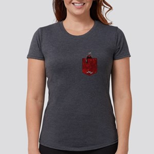 Ant-Man Pocket Womens Tri-blend T-Shirt