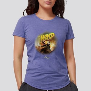 The Wasp Flying Womens Tri-blend T-Shirt