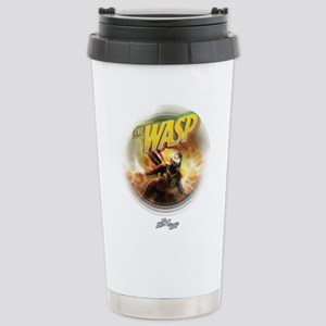 The Wasp Flying 16 oz Stainless Steel Travel Mug