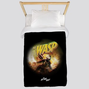 The Wasp Flying Twin Duvet Cover