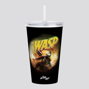 The Wasp Flying Acrylic Double-wall Tumbler