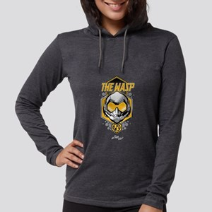 The Wasp Helmet Womens Hooded Shirt