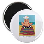 Magic Carpet Ride - Beach Magnet