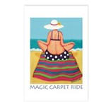 Magic Carpet Ride - Beach Postcards (Package of 8)