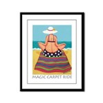 Magic Carpet Ride - Beach Framed Panel Print