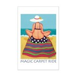 Magic Carpet Ride - Beach Mini Poster Print