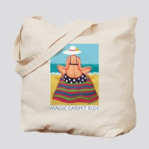 Magic Carpet Ride - Beach Tote Bag
