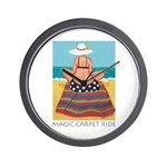 Magic Carpet Ride - Beach Wall Clock