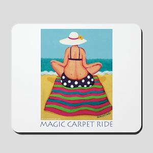 Magic Carpet Ride - Beach Mousepad