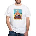 Magic Carpet Ride - Beach White T-Shirt
