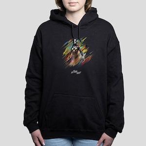 The Wasp Standing Women's Hooded Sweatshirt