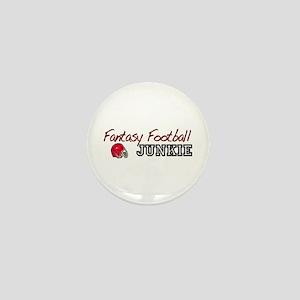 Fantasy Football Junkie Mini Button