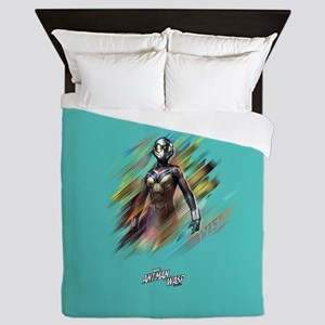 The Wasp Standing Queen Duvet