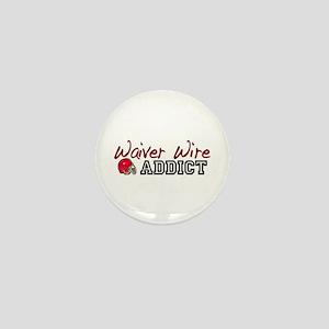 Waiver Wire Addict Mini Button