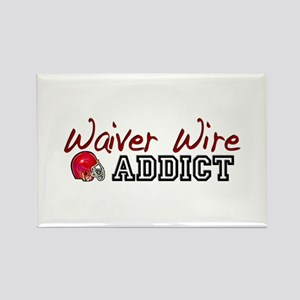 Waiver Wire Addict Rectangle Magnet