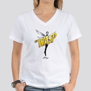 The Wasp Women's V-Neck T-Shirt