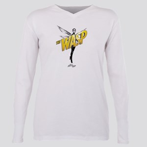 The Wasp Plus Size Long Sleeve Tee