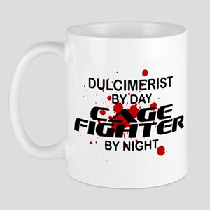 Dulcimerist Cage Fighter by Night Mug