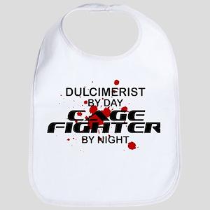 Dulcimerist Cage Fighter by Night Bib