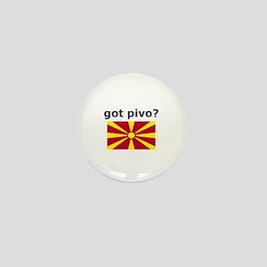 Macedonian - Got Pivo? Mini Button