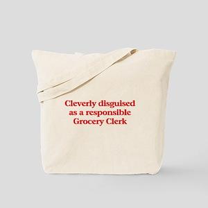 Grocery Store Clerk Tote Bag