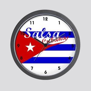 Salsa Cubana Wall Clock