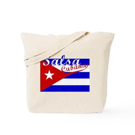 Salsa Cubana Tote Bag