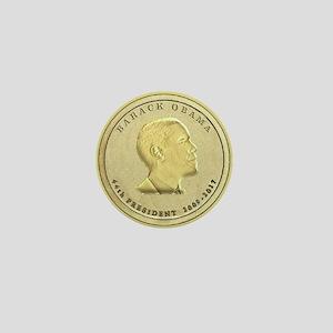 Obama Presidential Coin Mini Button