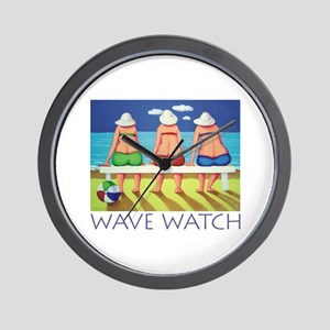 Wave Watch - Beach Wall Clock