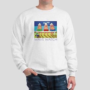 Wave Watch - Beach Sweatshirt