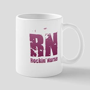 RN - Rockin' Nurse Pink Mugs