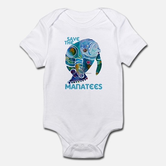 Manatees Infant Bodysuit