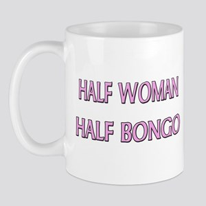 Half Woman Half Bongo Mug