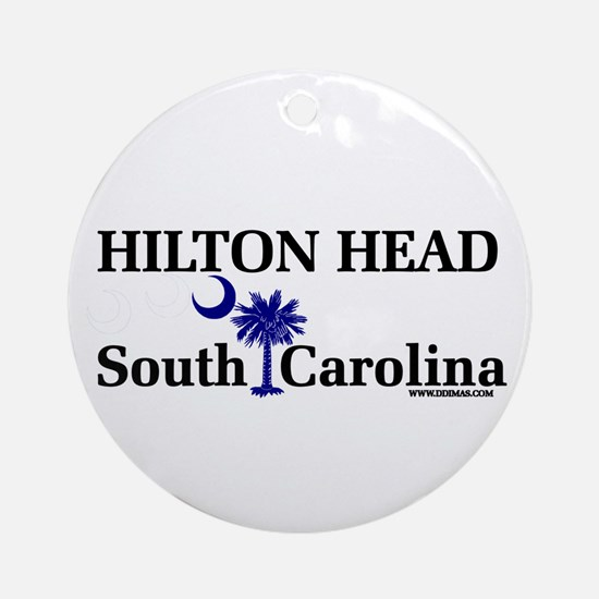 Hilton Head Island Ornament (Round)