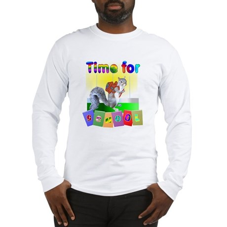 School Time Long Sleeve T-Shirt
