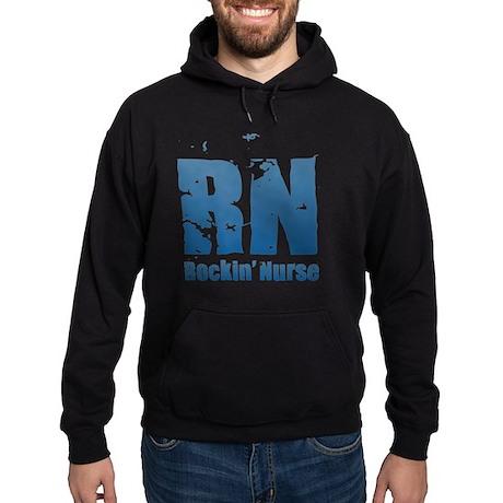 RN - Rockin' Nurse Blue Sweatshirt