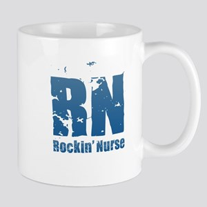 RN - Rockin' Nurse Blue Mugs