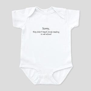 mind-reading Infant Bodysuit