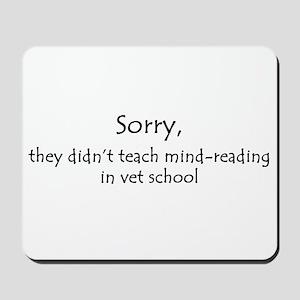 mind-reading Mousepad