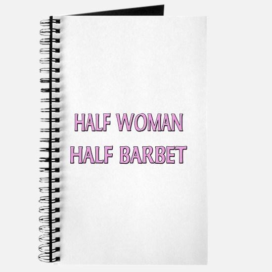 Half Woman Half Barbet Journal