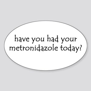 metronidazole Oval Sticker