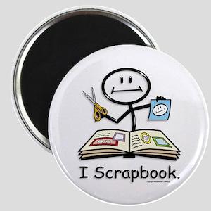 BusyBodies Scrapbooking Magnet